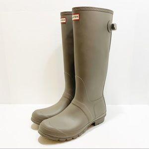 HUNTER | Original Tall Back Adjustable Rain boots